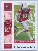 DeAndre Hopkins Panini Chronicles Football 2020 Base