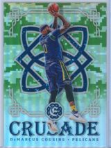 DeMarcus Cousins Panini Excalibur Basketball 2016-17 Crusade Camo