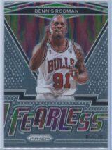 Dennis Rodman Panini Prizm Basketball 2020-21 Fearless