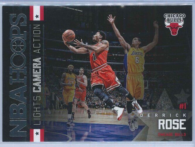 Derrick Rose Panini NBA Hoops Basketball 2015-16 Lights Camera Action