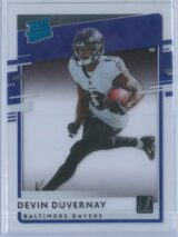 Devin Duvernay Panini Chronicles Football 2020 Clearly Donruss  Rated Rookie