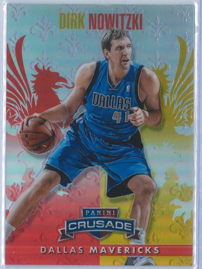 Dirk Nowitzki Panini Crusade Basketball 2013 14 Base Red 006349 1
