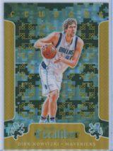 Dirk Nowitzki Panini Excalibur Basketball 2014-15 Crusade Camo