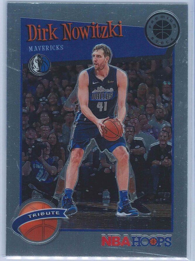 Dirk Nowitzki Panini NBA Hoops Premium Stock 2019-20 Tribute