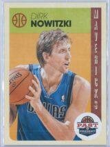 Dirk Nowitzki Panini Past And Present Basketball 2012-13 Base