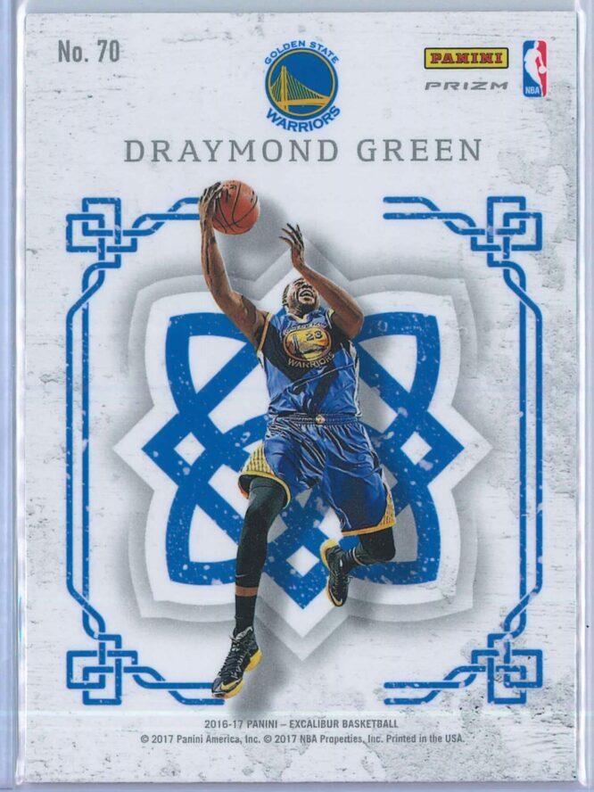 Draymond Green Panini Excalibur Basketball 2016 17 Crusade Camo 2