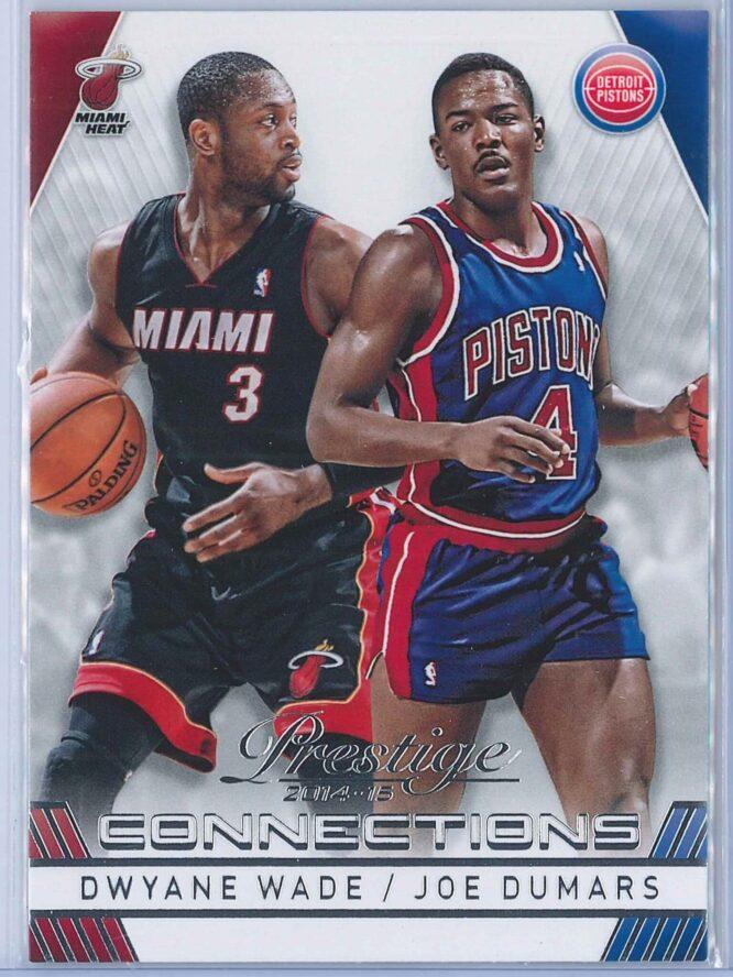 Dwyane Wade - Joe Dumars Panini Prestige Basketball 2014-15 Connections