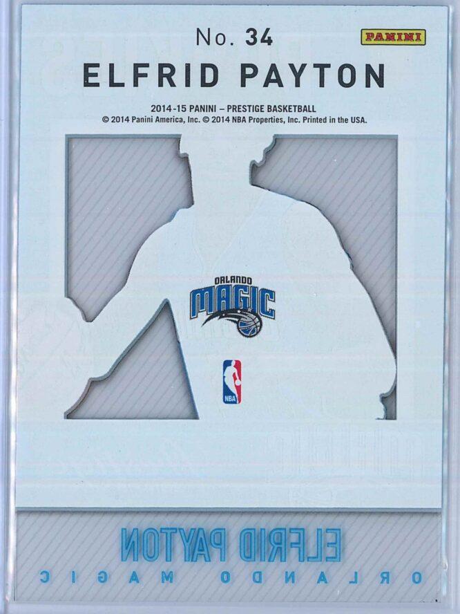 Elfrid Payton Panini Prestige Basketball 2014 15 Mystery Rookies 2