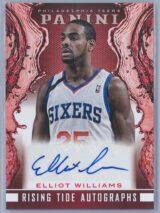 Elliot Williams Panini Panini Basketball 2013-14 Rising Tide Autographs