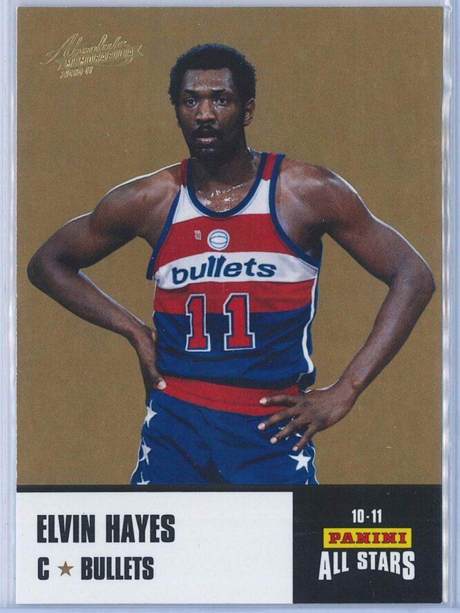 Elvin Hayes Panini Absolute Memorabilia 2010-11 Panini All Stars