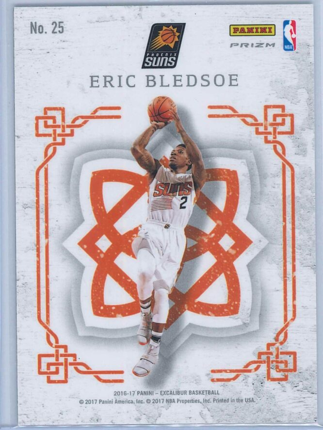 Eric Bledsoe Panini Excalibur Basketball 2016 17 Crusade Camo 2