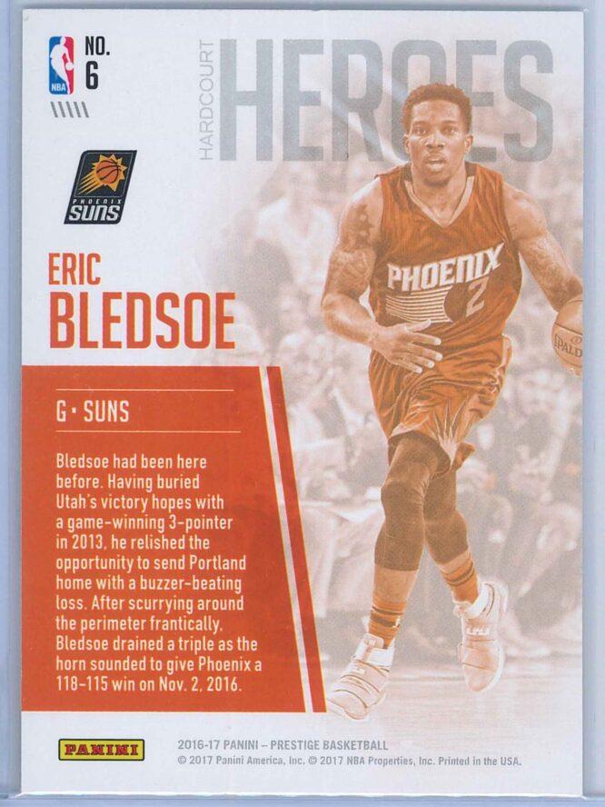Eric Bledsoe Panini Prestige Basketball 2016 17 Hardcourt Heroes 2