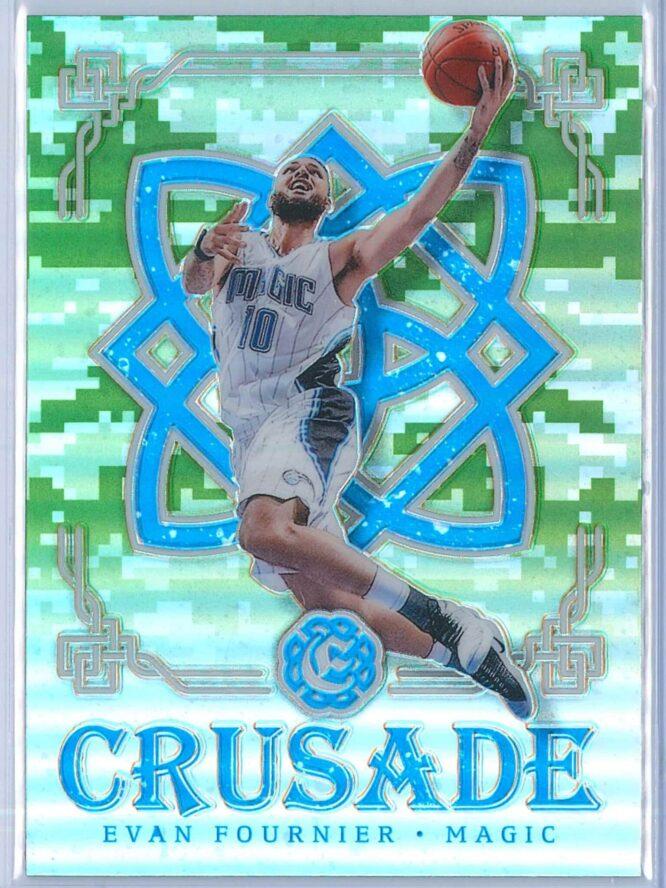 Evan Fournier Panini Excalibur Basketball 2016-17 Crusade Camo