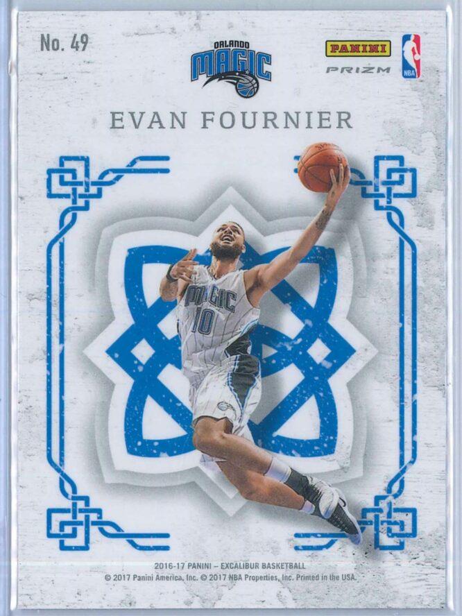 Evan Fournier Panini Excalibur Basketball 2016 17 Crusade Camo 2