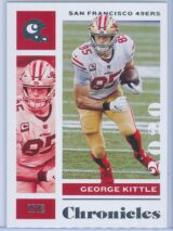 George Kittle Panini Chronicles Football 2020 Base