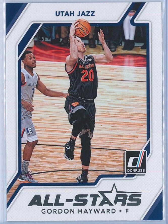 Gordon Hayward Panini Donruss Basketball 2017-18 All Stars