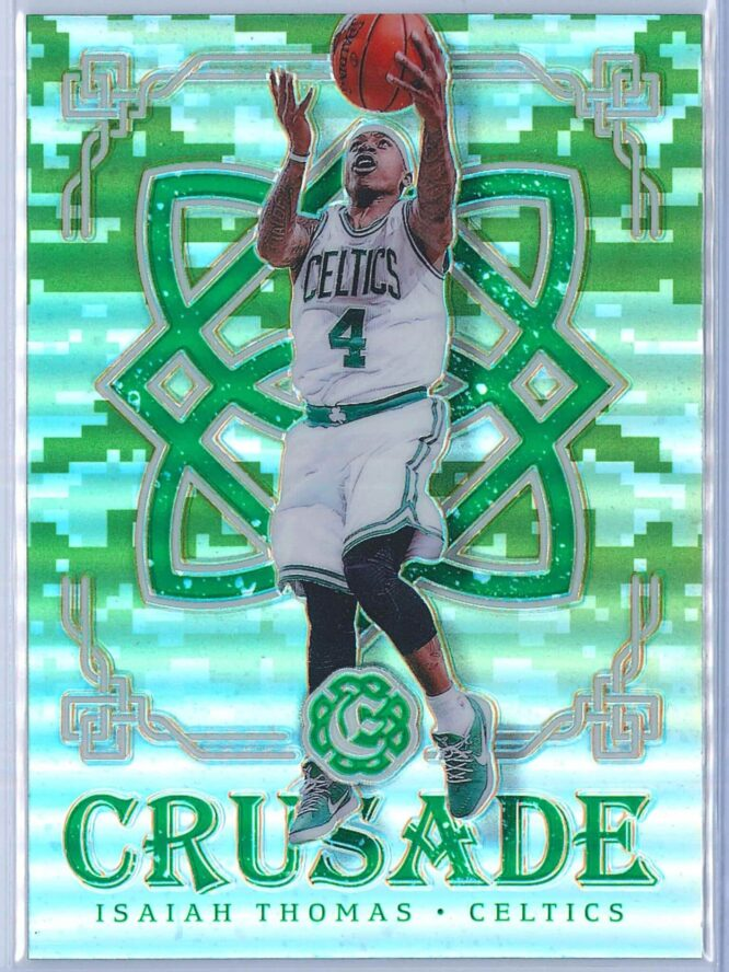 Isaiah Thomas Panini Excalibur Basketball 2016-17 Crusade Camo
