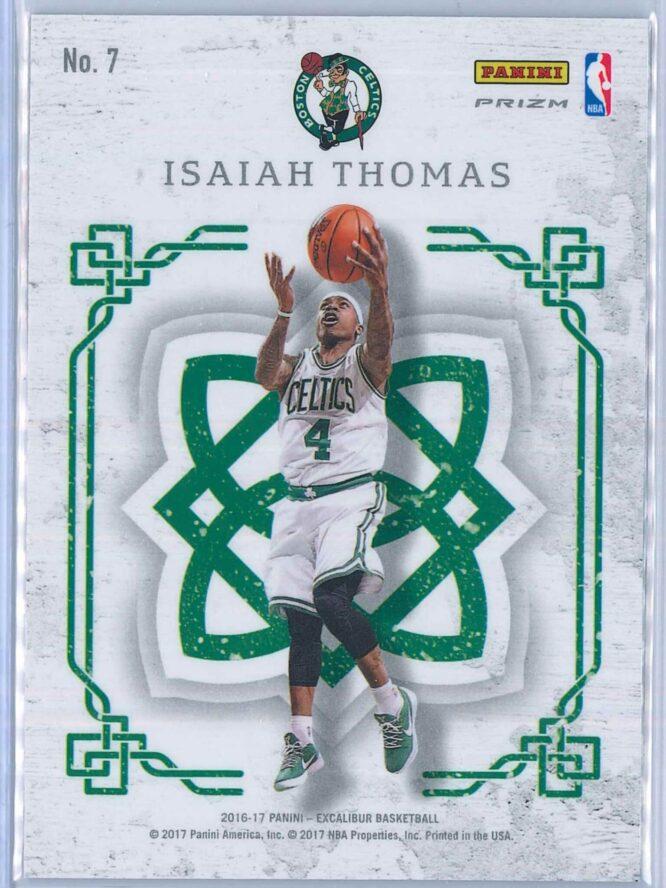 Isaiah Thomas Panini Excalibur Basketball 2016 17 Crusade Camo 2