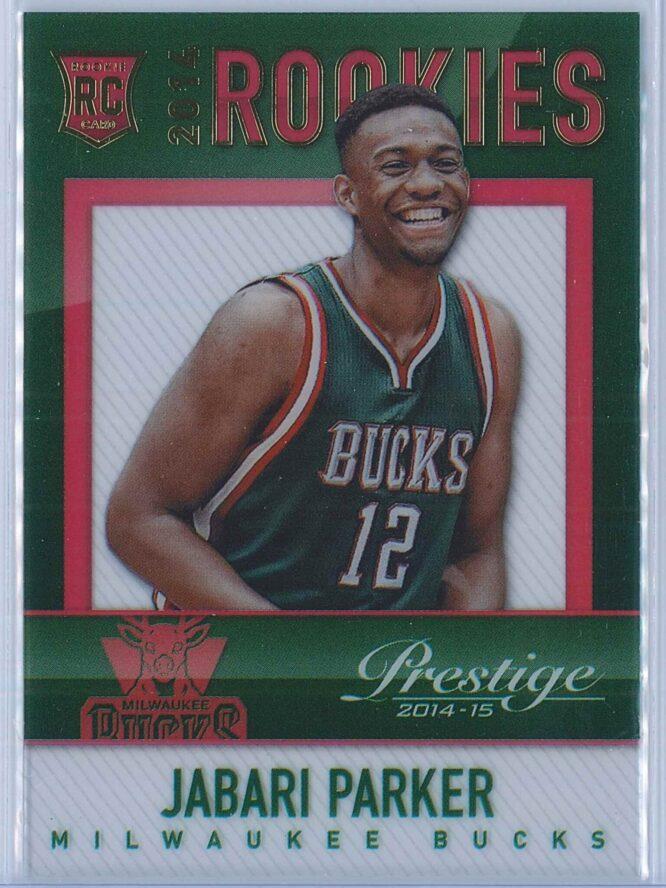 Jabari Parker Panini Prestige Basketball 2014-15 Mystery Rookies
