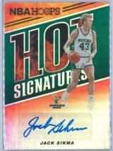 Jack Sikma Panini NBA Hoops 2018-19 Hot Signatures   Auto