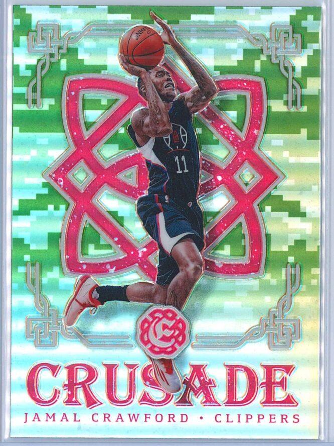 Jamal Crawford Panini Excalibur Basketball 2016-17 Crusade Camo