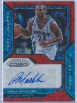 Jamal Mashburn Panini Prizm Basketball 2020-21 Sensational Signatures   Auto