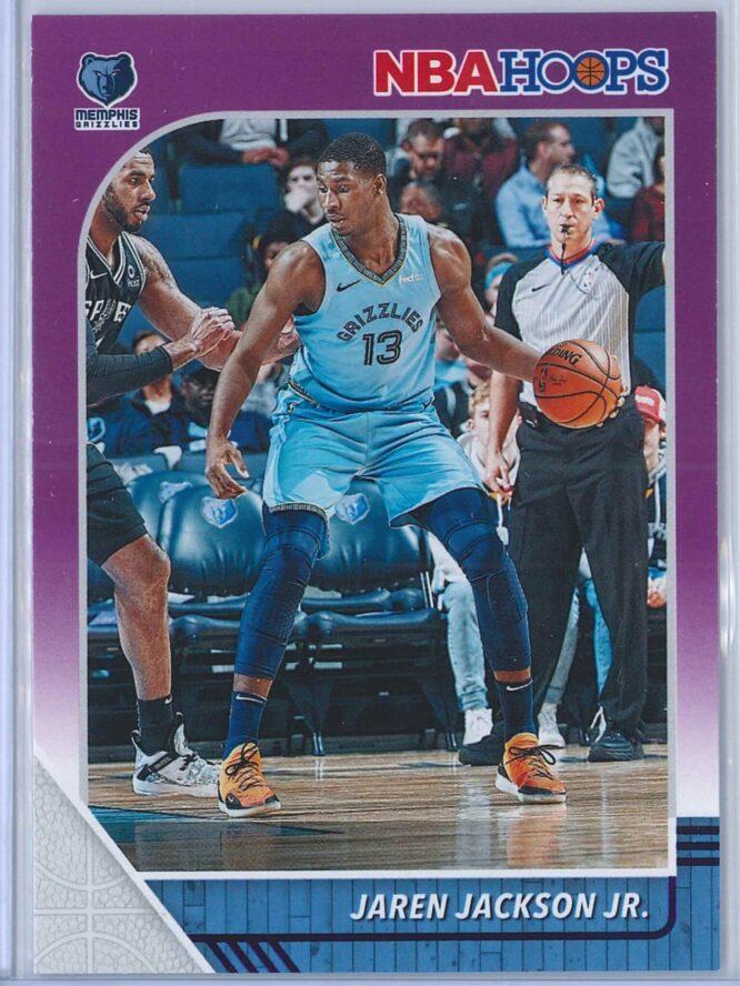Jaren Jackson Jr. Panini NBA Hoops 2019-20  Purple