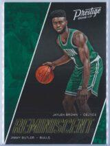 Jaylen Brown - Jimmy Butler Panini Prestige Basketball 2016-17 Reminiscent