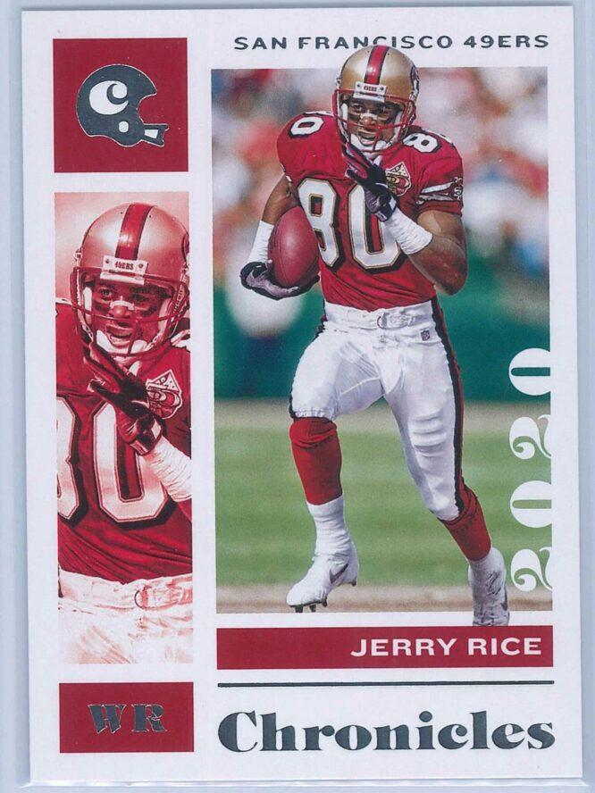 Jerry Rice Panini Chronicles Football 2020 Base