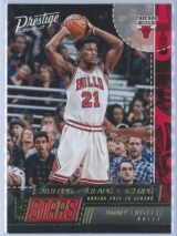 Jimmy Butler Panini Prestige Basketball 2016-17 Stat Stars