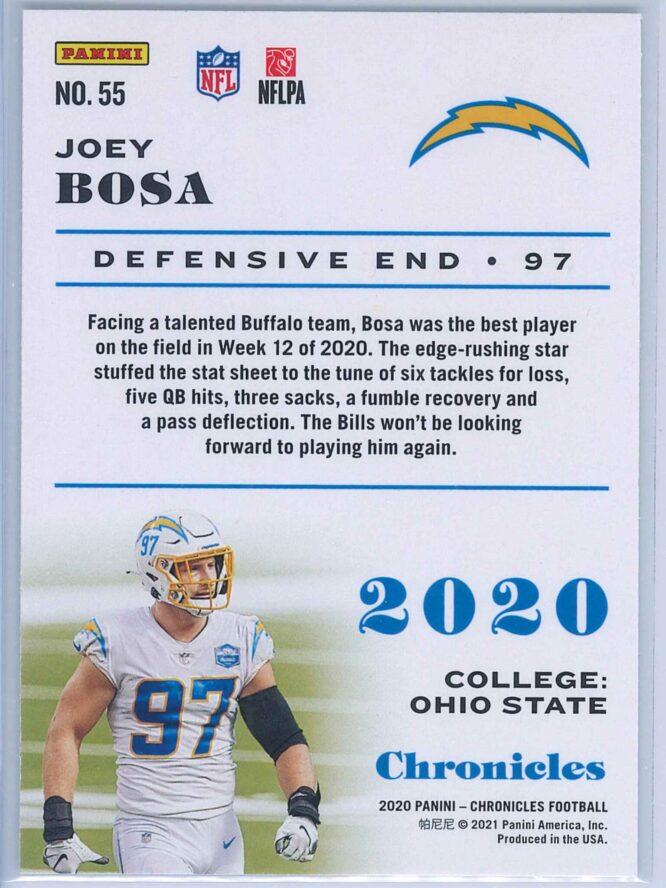 Joey Bosa Panini Chronicles Football 2020 Base 2