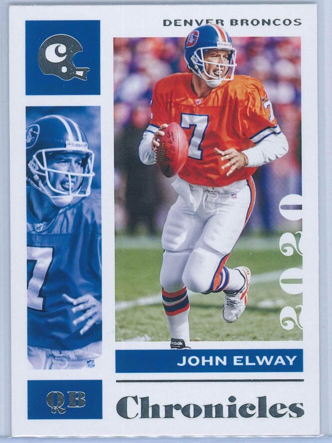 John Elway Panini Chronicles Football 2020 Base
