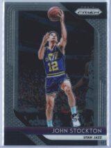 John Stockton Panini Prizm Basketball 2018-19 Base
