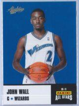 John Wall Panini Absolute Memorabilia 2010-11 Panini All Stars