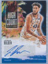 Jonah Bolden Panini Court Kings Basketball 2019 20 High Court Signatures 6799 1