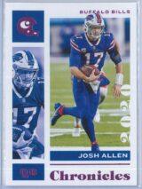 Josh Allen Panini Chronicles Football 2020 Base Pink