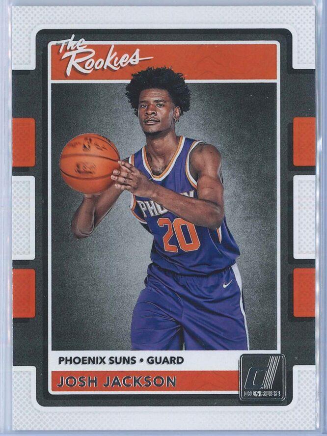 Josh Jackson Panini Donruss Basketball 2017-18 The Rookies   Rookie Year