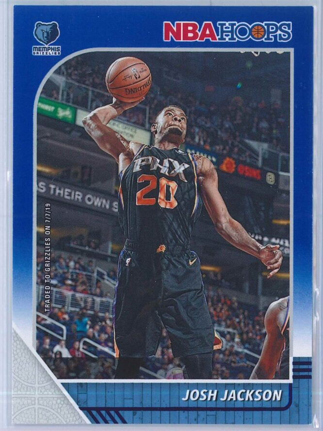 Josh Jackson Panini NBA Hoops 2019-20  Blue