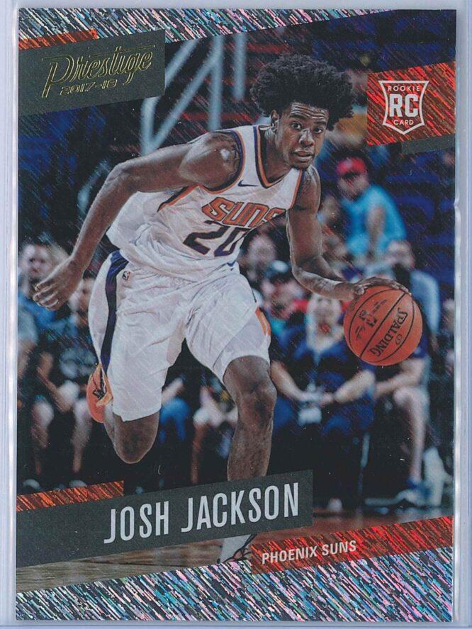 Josh Jackson Panini Prestige Basketball 2017-18 Base Rain Parallel  RC