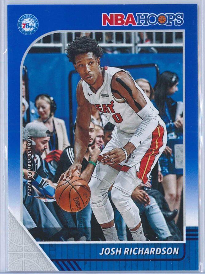 Josh Richardson Panini NBA Hoops 2019-20  Blue