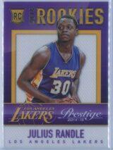 Julius Randle Panini Prestige Basketball 2014-15 Mystery Rookies