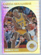 Kareem Abdul Jabbar Panini NBA Hoops 2020-21 Tribute