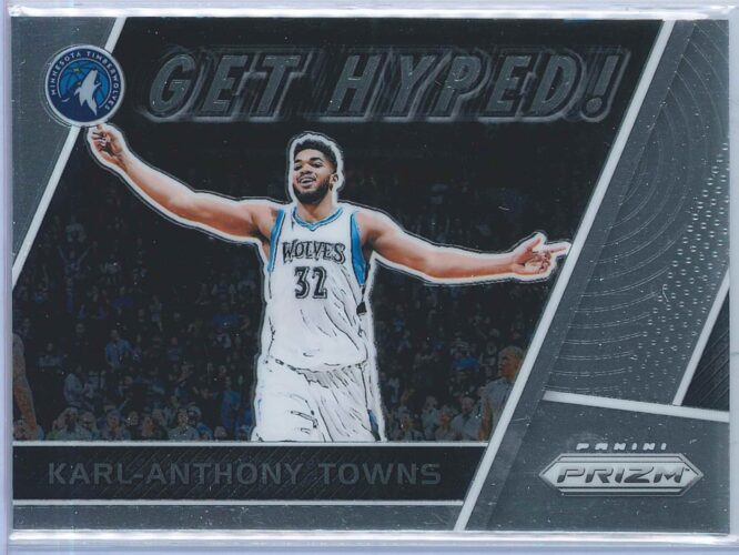 Karl Anthony Towns Panini Prizm 2017-18 Get Hyped