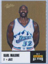 Karl Malone Panini Absolute Memorabilia 2010-11 Panini All Stars