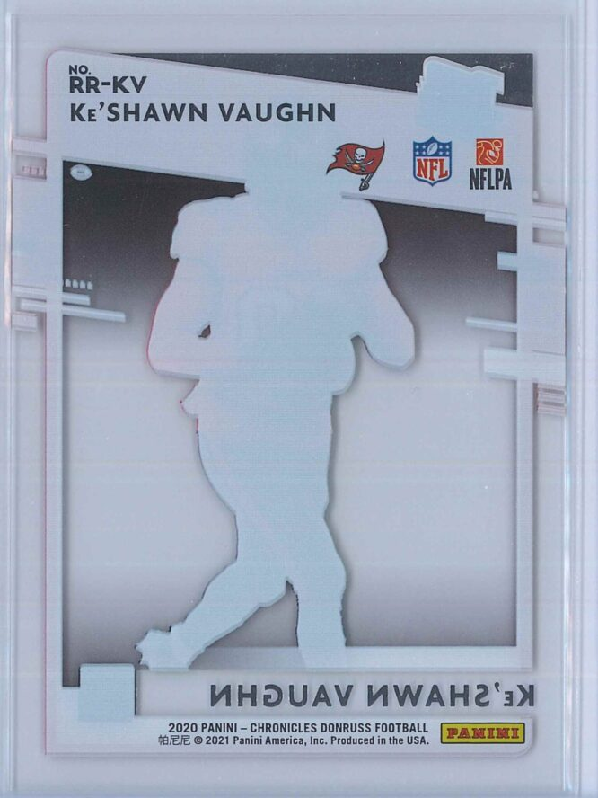 KeShawn Vaughn Panini Chronicles Football 2020 Clearly Donruss Rated Rookie 2