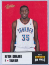 Kevin Durant Panini Absolute Memorabilia 2010-11 Panini All Stars