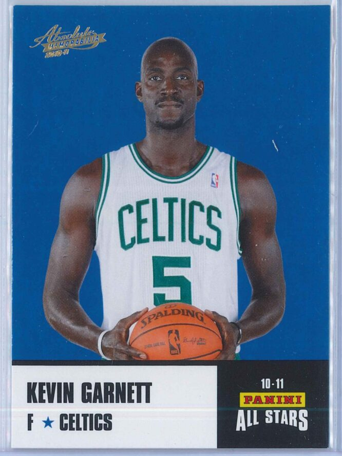 Kevin Garnett Panini Absolute Memorabilia 2010-11 Panini All Stars