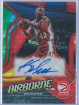 Kevin Willis Panini Chronicles Rookies And Stars Basketball 2019-20 Airborne   Auto