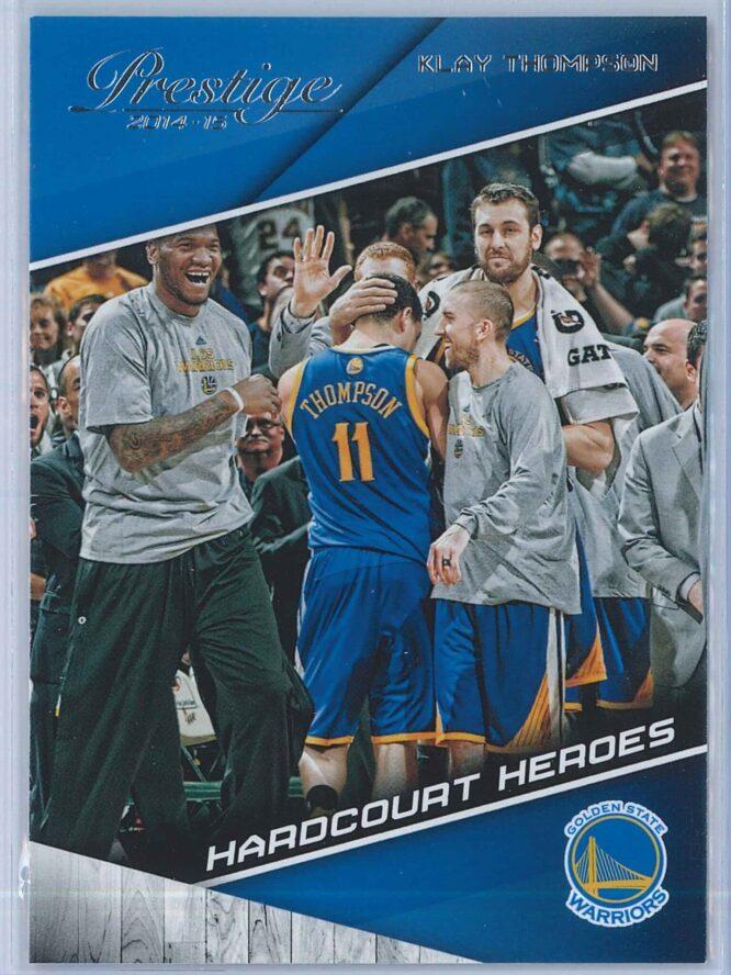 Klay Thompson Panini Prestige Basketball 2014-15 Hardcourt Heroes
