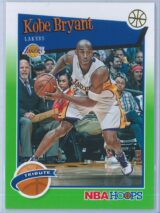 Kobe Bryant Panini NBA Hoops 2019-20 Tribute Neone Green